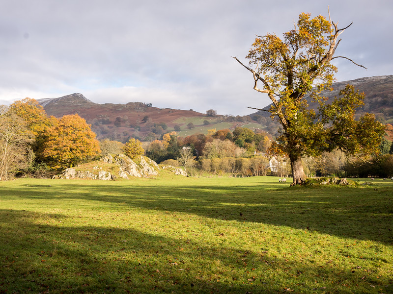 Rothay valley in the Lake District