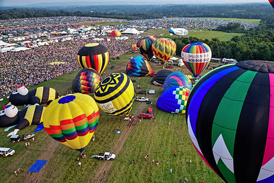 Balloon Festival Solberg Airport