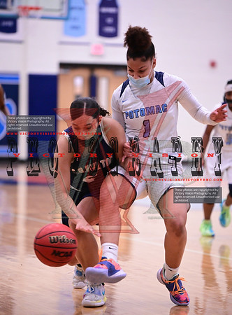 C.D. Hylton @ Potomac Girls Varsity Basketball 2-3-21