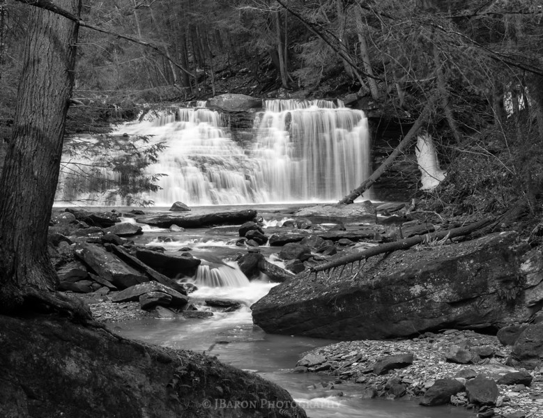 Freedom Falls 1171 Monochrome