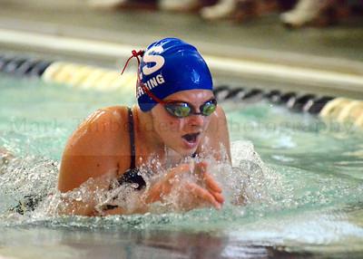 Lampeter-Strasburg Coed Varsity Swimming v. Palmyra 1.9.14