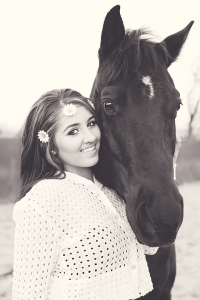 Adelys with her horse