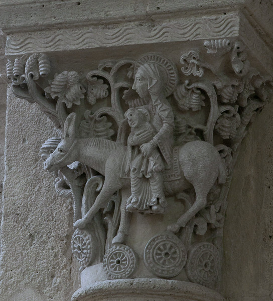 Saulieu Abbey of Saint-Androche Capital, The Flight into Eygpt