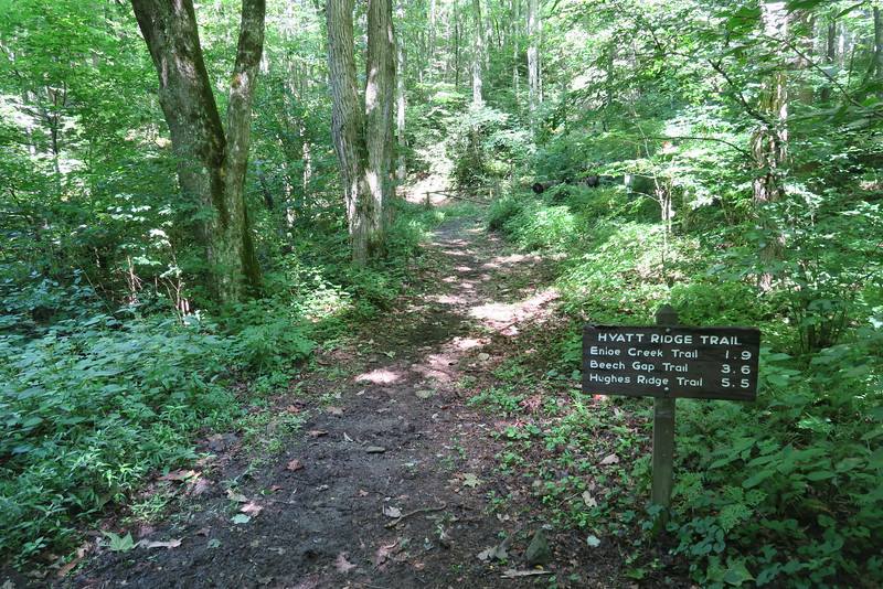 Hyatt Ridge Trailhead - 2,930'