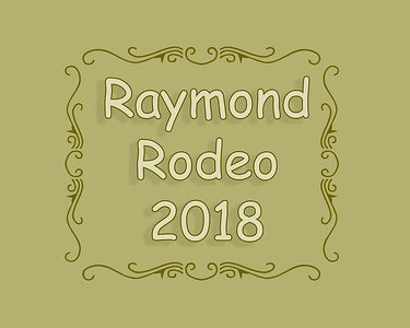 Raymond Rodeo 2018
