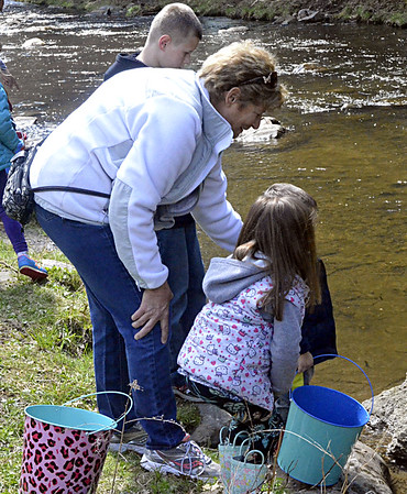Trout stocking at Spa State Park