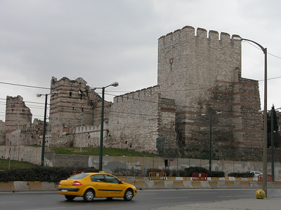 Theodesian Walls - Istanbul, Turkey