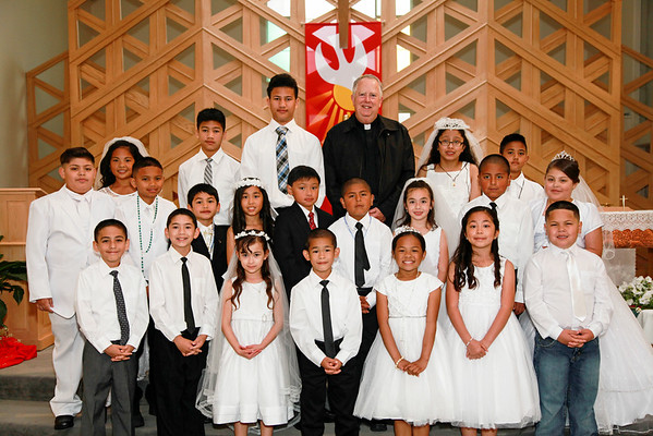 First Communion- May 15, 2016