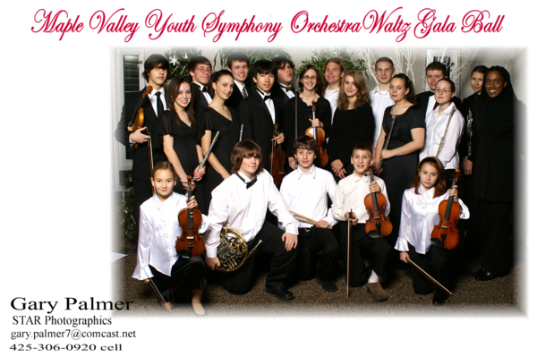 Maple Valley Youth Symphony Orchestra Ball