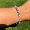 10.50ctw Round Brilliant Diamond Tennis Bracelet 20