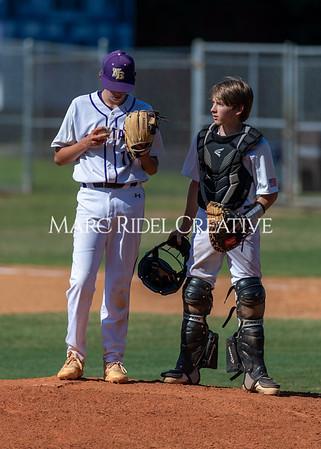 Broughton JV baseball vs Bunn. May 19, 2021