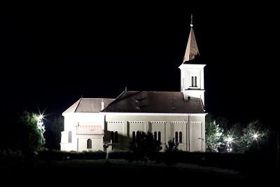 Veszprém by night