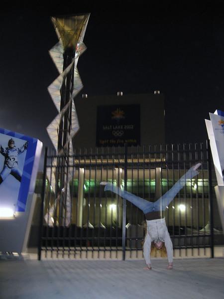 Stacee Calderon - Rice Eccles Stadium, Salt Lake City, UT - 04/2008