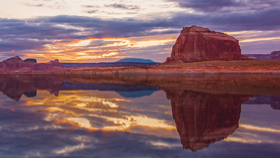 2020-09 Lake Powell Landscape with Gustavson's & Youngberg's