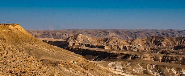 Upper and Lower Ein Akev from Avdat