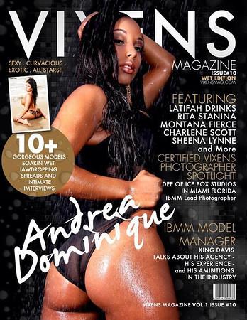 Vixens Magazine Wet Edition Issue10
