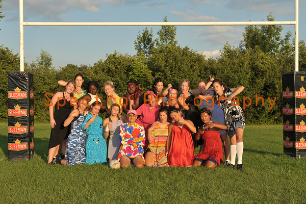 Prom Dress Rugby Seniors