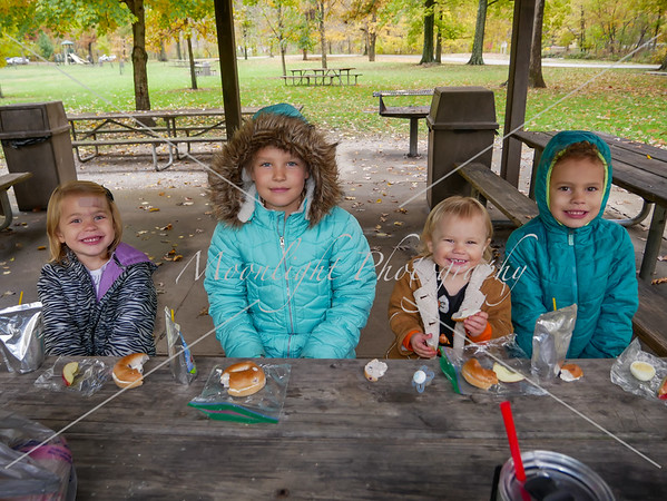 Fall lunch at Sharon Woods