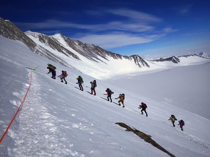 Alpine Ascent team