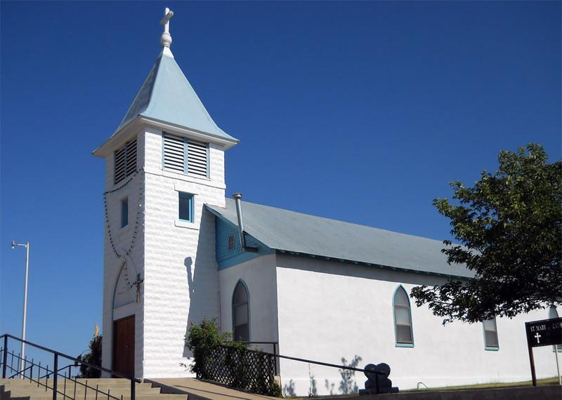 ST MARY CATHOLIC CHURCH Marathon, Texas