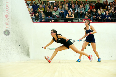 2011-02-19 Casey Cortes (Princeton) and Gwendoline Tilghman (Yale)