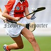 REPRO FREE***PRESS RELEASE NO REPRODUCTION FEE*** <br /> Liberty Insurance All-Ireland Junior Camogie Championship Final, Croke Park, Dublin 11/9/2016<br /> Armagh vs Carlow<br /> Armagh's Collette McSorley and Grainne Nolan of Carlow<br /> Mandatory Credit ©INPHO/Ryan Byrne