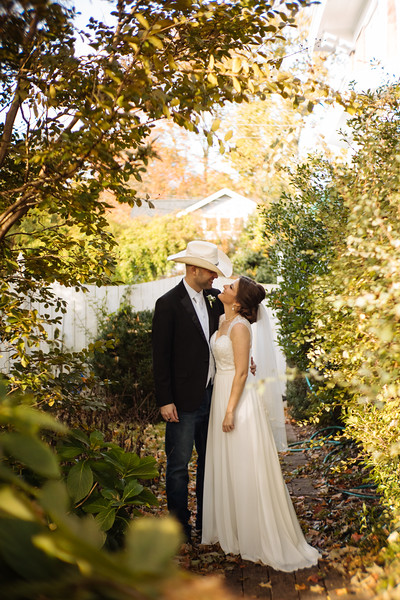 Sarah & Tim. Married