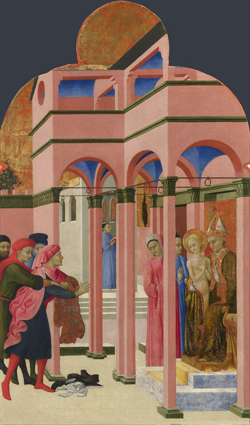 Saint Francis renounces his Earthly Father