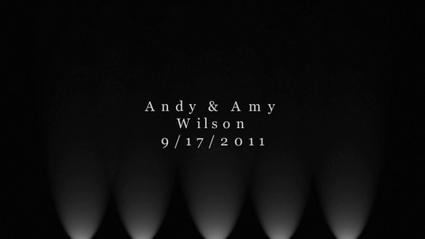 Amy and Andy Wilson