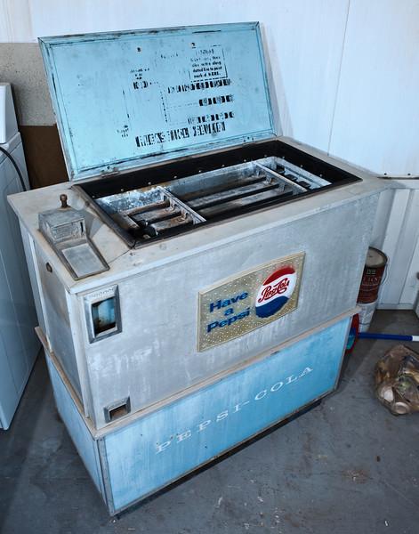 A-55 Pepsi Vending Machine - Ideal Dispenser Co