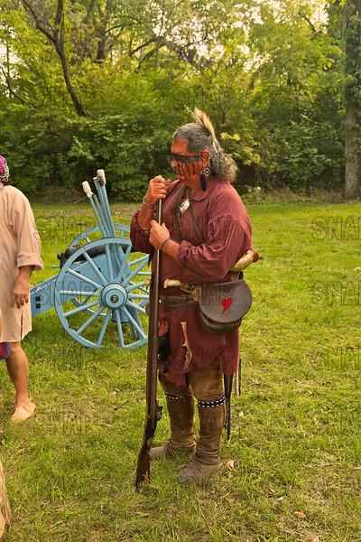 War of 1812 Period Reenactor