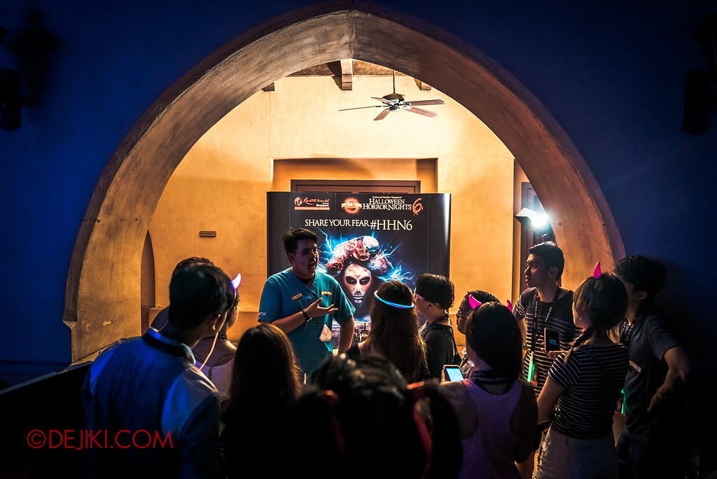 Halloween Horror Nights 6 - RIP Tour review / VIP Meet and Greet booth