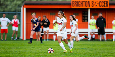 Brighton Varsity Girls vs. Hartland 4-25-17