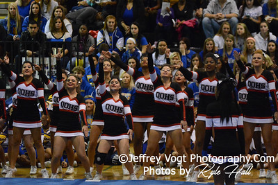 11-15-2014 Quince Orchard HS Varsity Cheerleading at Blair HS MCPS Championship, Photos by Jeffrey Vogt Photography with Kyle Hall