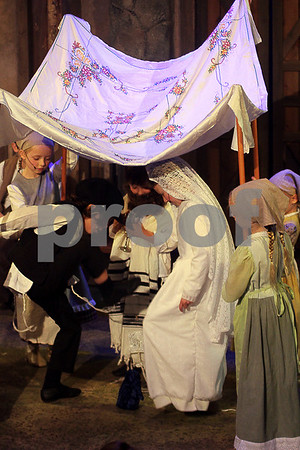 Purim Fiddler on the Roof Cast 2015