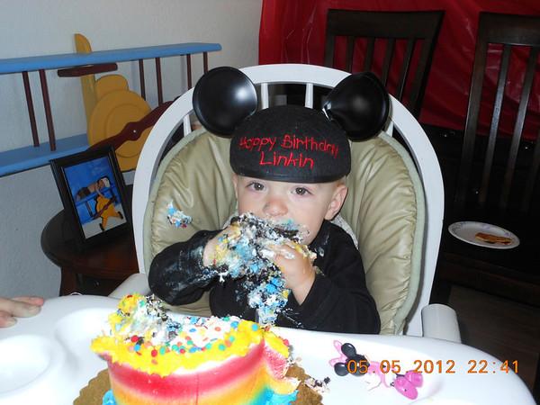 Linkin's 1st Birthday