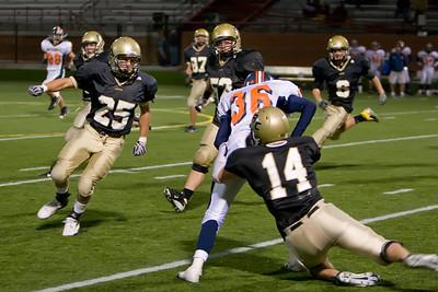 10/09 Varsity vs Mitchell