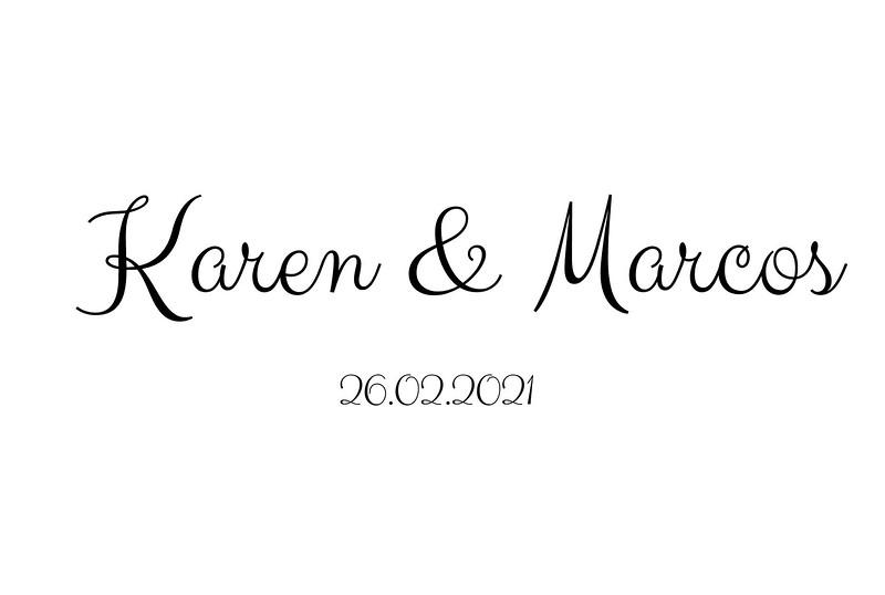 Karen & Marcos 26.02.2021