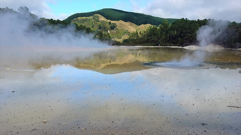 Spa Thermal Park, Taupo, NZ
