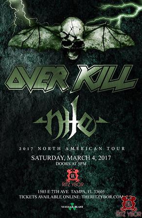 Overkill + Nile