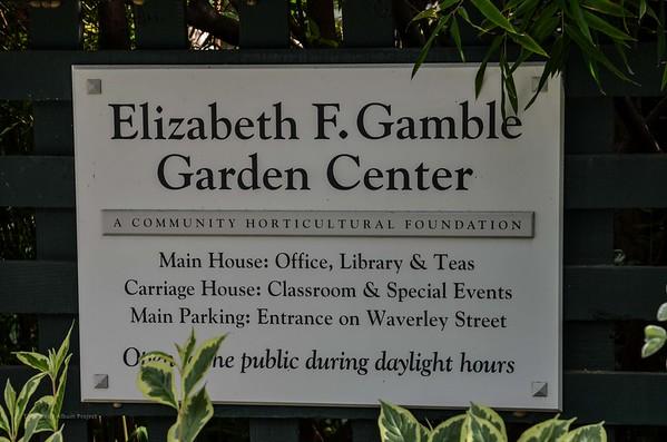 Elizabeth Gamble Garden - Palo Alto