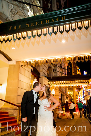 Courtney & Bryan Color Wedding Photos