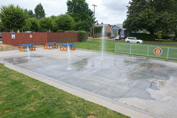Splash Pad- Newberg, Oregon