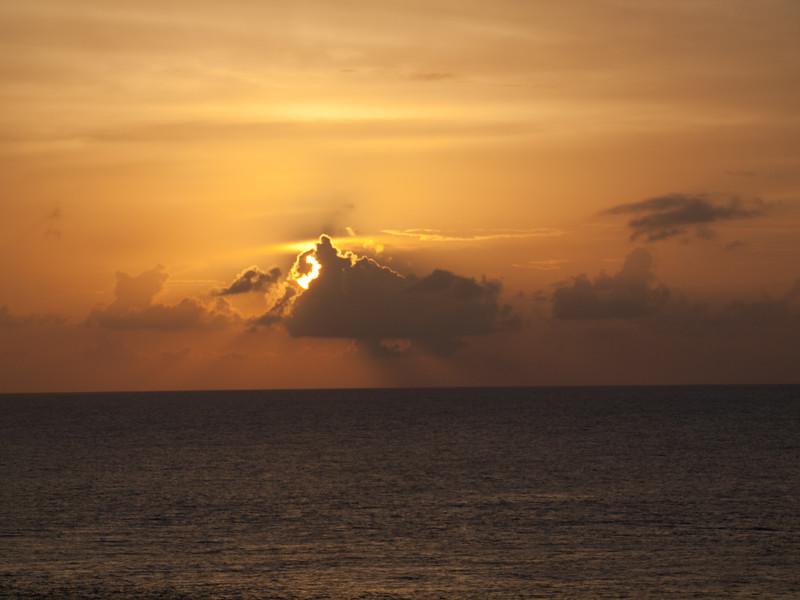 A Caribbean Sunset