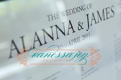 Alanna and James Reception