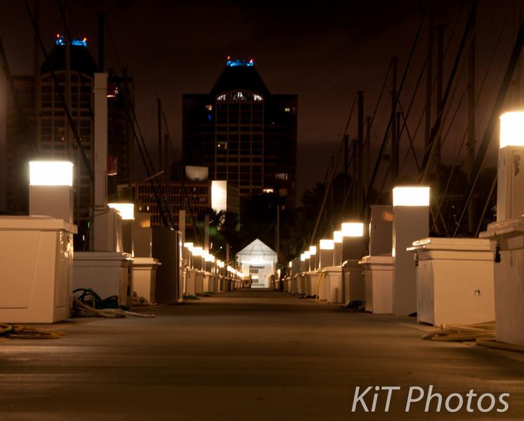Pier 4 at night