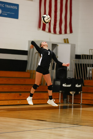 Heritage Volleyball 8th grade Game