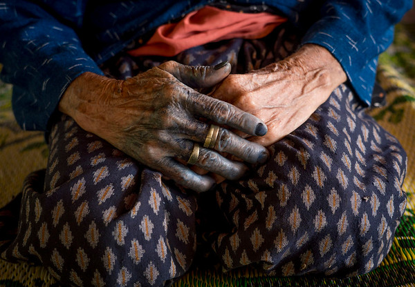 Indigo Dye Production - Thailand, Sakon Nakhon