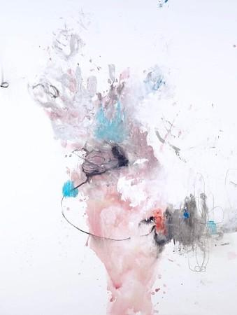 Declaration-Baines, 50x38 on canvas