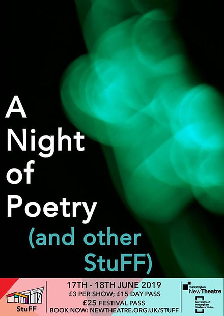 A Night of Poetry (and Other StuFF) poster